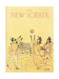 The New Yorker Cover - July 4, 1977 Regular Giclee Print by William Steig