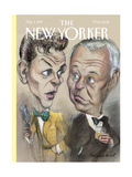 The New Yorker Cover - November 3, 1997 Regular Giclee Print by Edward Sorel