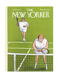 The New Yorker Cover - June 19, 1971 Regular Giclee Print by Charles Saxon
