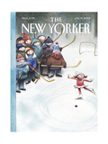 The New Yorker Cover - January 13, 2003 Regular Giclee Print by Carter Goodrich