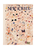 The New Yorker Cover - July 13, 1946 Regular Giclee Print by Ludwig Bemelmans