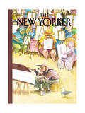 The New Yorker Cover - September 1, 2003 Regular Giclee Print by Carter Goodrich