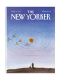 The New Yorker Cover - August 31, 1987 Regular Giclee Print by Eugène Mihaesco