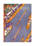 The New Yorker Cover - June 25, 1927 Giclee Print by Ilonka Karasz