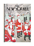 The New Yorker Cover - December 25, 1965 Regular Giclee Print by George Price