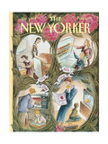 The New Yorker Cover - May 9, 1994 Regular Giclee Print by Edward Sorel