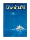 The New Yorker Cover - December 3, 1973 Regular Giclee Print by Robert Weber