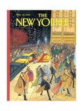 The New Yorker Cover - November 16, 1992 Giclée-Druck von Arnold Roth