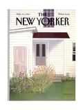 The New Yorker Cover - July 15, 1985 Regular Giclee Print by Gretchen Dow Simpson