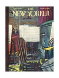 The New Yorker Cover - April 30, 1955 Giclee Print by Arthur Getz
