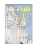 The New Yorker Cover - August 5, 1967 Giclee Print by James Stevenson