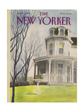 The New Yorker Cover - April 13, 1981 Regular Giclee Print by Charles Saxon