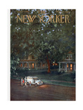 The New Yorker Cover - August 24, 1957 Giclee Print by Edna Eicke
