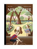 The New Yorker Cover - June 16, 2003 Regular Giclee Print by Mark Ulriksen