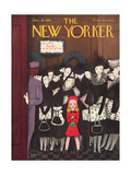 The New Yorker Cover - December 20, 1941 Regular Giclee Print by Christina Malman