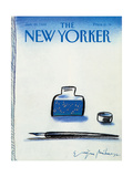 The New Yorker Cover - January 25, 1988 Regular Giclee Print by Eugène Mihaesco