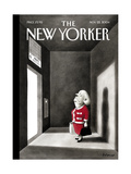 The New Yorker Cover - November 22, 2004 Giclee Print by Ian Falconer