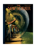 The New Yorker Cover - June 15, 1957 Giclee Print by Arthur Getz