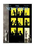 The New Yorker Cover - January 20, 1997 Regular Giclee Print by Ian Falconer