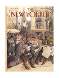 The New Yorker Cover - September 25, 2000 Regular Giclee Print by Edward Sorel