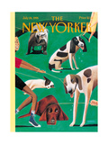 The New Yorker Cover - July 24, 1995 Regular Giclee Print by Mark Ulriksen