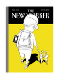 The New Yorker Cover - September 10, 2001 Regular Giclee Print by Istvan Banyai