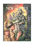 The New Yorker Cover - June 23, 1997 Regular Giclee Print by Owen Smith