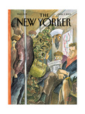 The New Yorker Cover - March 3, 2003 Regular Giclee Print by Edward Sorel