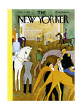 The New Yorker Cover - November 9, 1935 Regular Giclee Print by  Alain