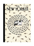 The New Yorker Cover - January 3, 2005 Regular Giclee Print by Gürbüz Dogan Eksioglu