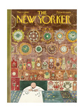 The New Yorker Cover - March 11, 1961 Regular Giclee Print by Anatol Kovarsky