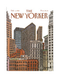 The New Yorker Cover - February 1, 1982 Regular Giclee Print by Roxie Munro