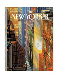 The New Yorker Cover - September 20, 1993 Giclée-Druck von Jean-Jacques Sempé