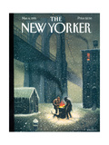 The New Yorker Cover - March 6, 1995 Regular Giclee Print by Eric Drooker