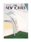 The New Yorker Cover - April 28, 1980 Regular Giclee Print by Gretchen Dow Simpson