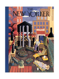 The New Yorker Cover - July 19, 1941 Premium Giclee Print by Ilonka Karasz