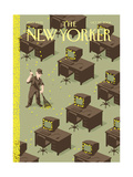 The New Yorker Cover - October 25, 2004 Giclee Print by Christoph Niemann