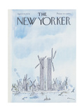 The New Yorker Cover - April 29, 1974 Regular Giclee Print by R.O. Blechman