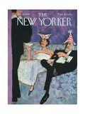 The New Yorker Cover - December 31, 1966 Regular Giclee Print by Charles Saxon