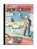 The New Yorker Cover - January 17, 2000 Regular Giclee Print by Barry Blitt