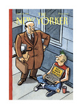 The New Yorker Cover - September 25, 1995 Giclee Print by R. Sikoryak