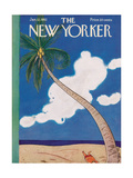 The New Yorker Cover - January 12, 1952 Giclee Print by Rea Irvin