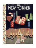 The New Yorker Cover - December 12, 1942 Giclee Print by Christina Malman