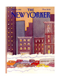 The New Yorker Cover - December 13, 1982 Regular Giclee Print by Lonni Sue Johnson
