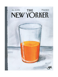The New Yorker Cover - January 30, 1995 Regular Giclee Print by Bob Zoell (HA)