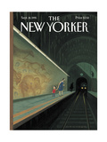 The New Yorker Cover - September 18, 1995 Giclee Print by Eric Drooker