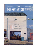 The New Yorker Cover - August 16, 1969 Giclee Print by Albert Hubbell