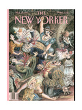 The New Yorker Cover - September 29, 1997 Regular Giclee Print by Edward Sorel