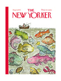 The New Yorker Cover - August 28, 1971 Giclee Print by Edward Koren
