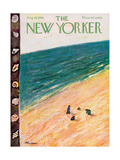 The New Yorker Cover - August 18, 1956 Giclee Print by Abe Birnbaum